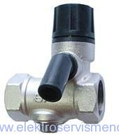 Pojišťovací ventil bojler